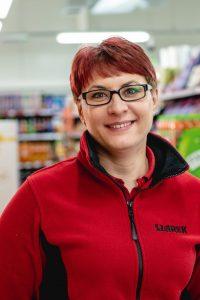 Magdalena Wyczawska - kierownik sklepu